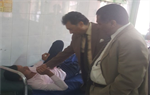 Abdelhakem and Salim visit the student of Al-Azhar education injured by a traffic accident