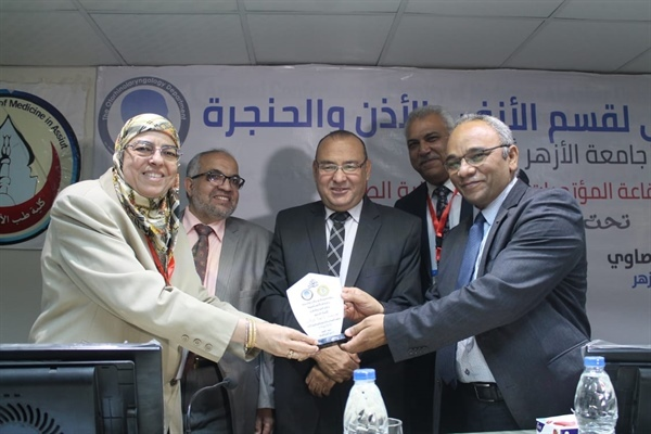 Proph Dr. Naeima Ismael was honored
