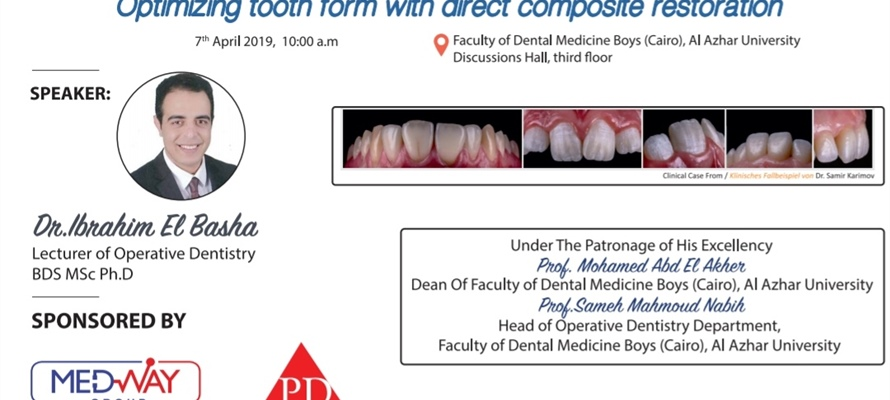 Optimizing tooth form with direct composite restoration